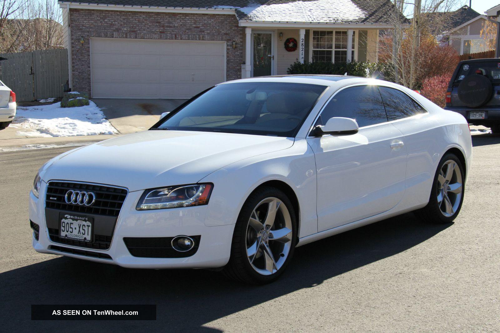 2011 Audi A5 2 0t Quattro Premium Plus