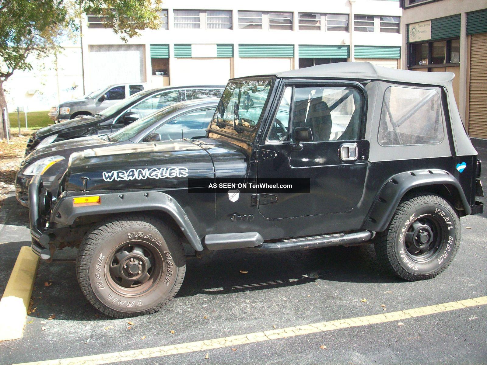 1993 jeep wrangler 4 0l 5 speed 4x4 yj. Black Bedroom Furniture Sets. Home Design Ideas