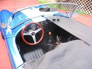 1965 Shelby Cobra,  Built In 1992, ,  5 Speed,  390fe Big Block,  Holley 650,  Softtop photo