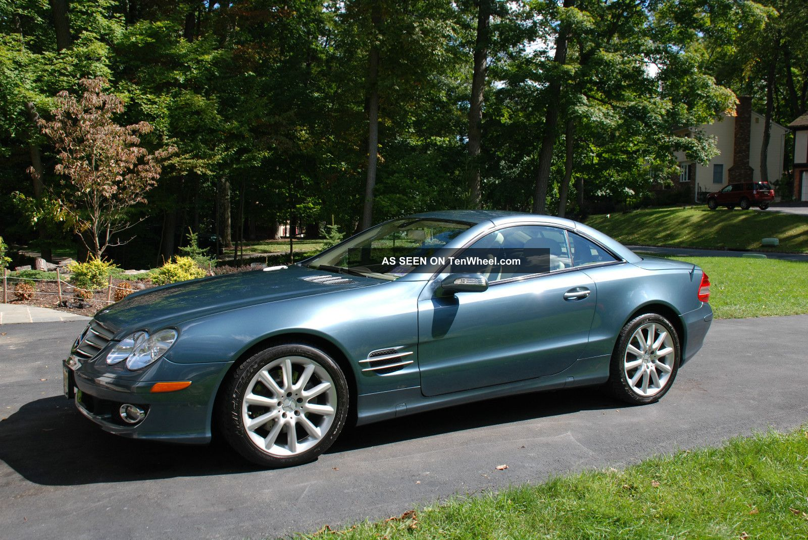 2007 mercedes benz sl550 great options for Mercedes benz options