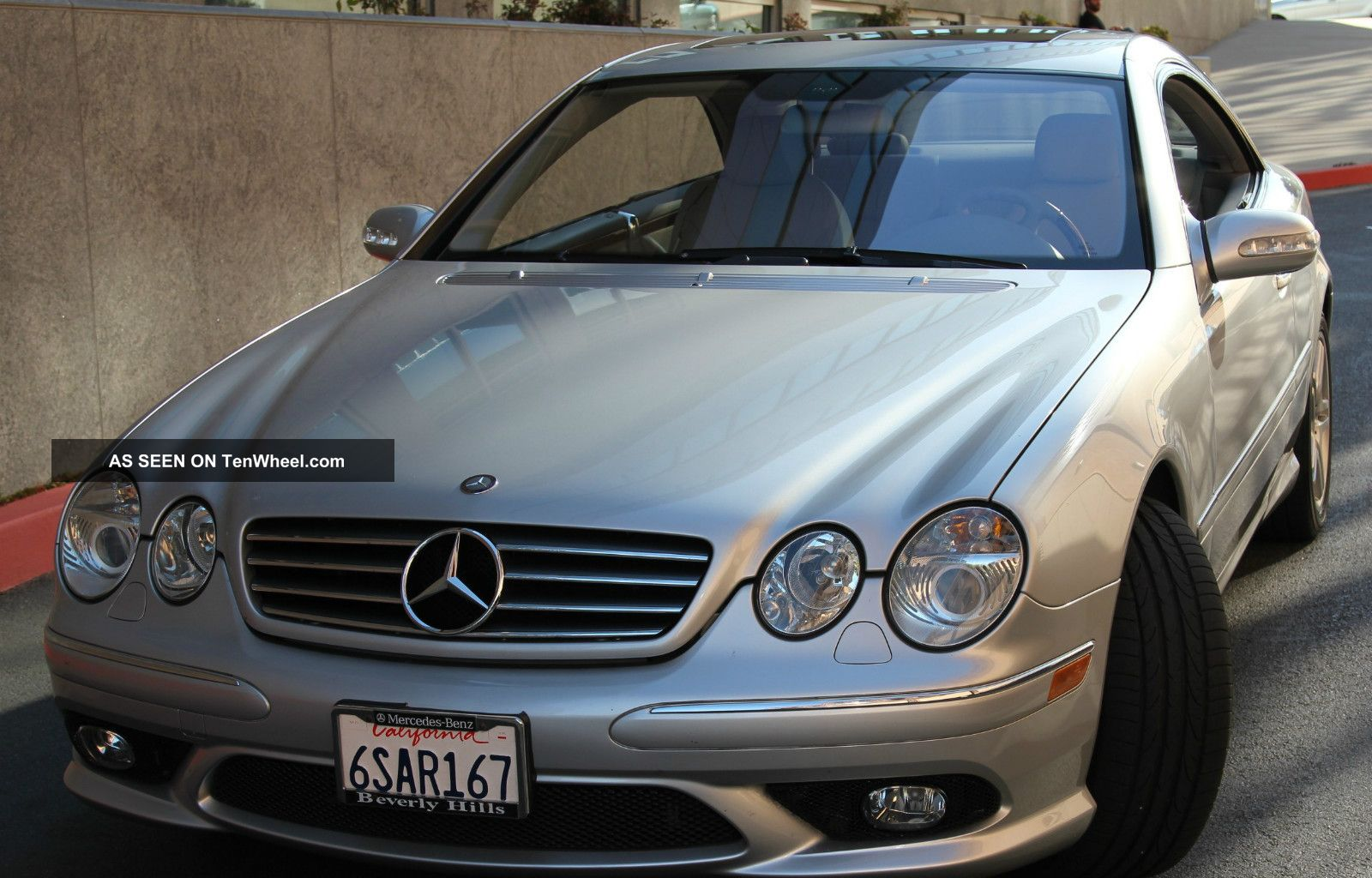 2006 mercedes benz cl500 coupe car is under mb
