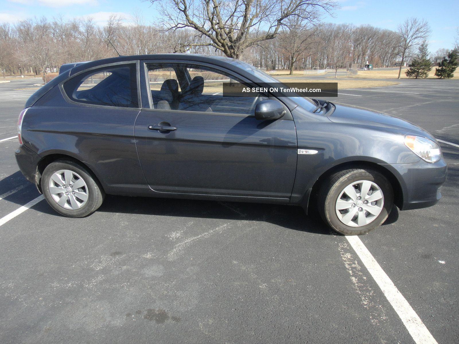 2011 Hyundai Accent Gl Hatchback 2 Door 1 6l