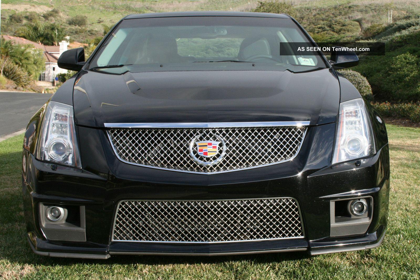 2010 Cadillac Cts V Sedan 4 - Door 6.  2l CTS photo