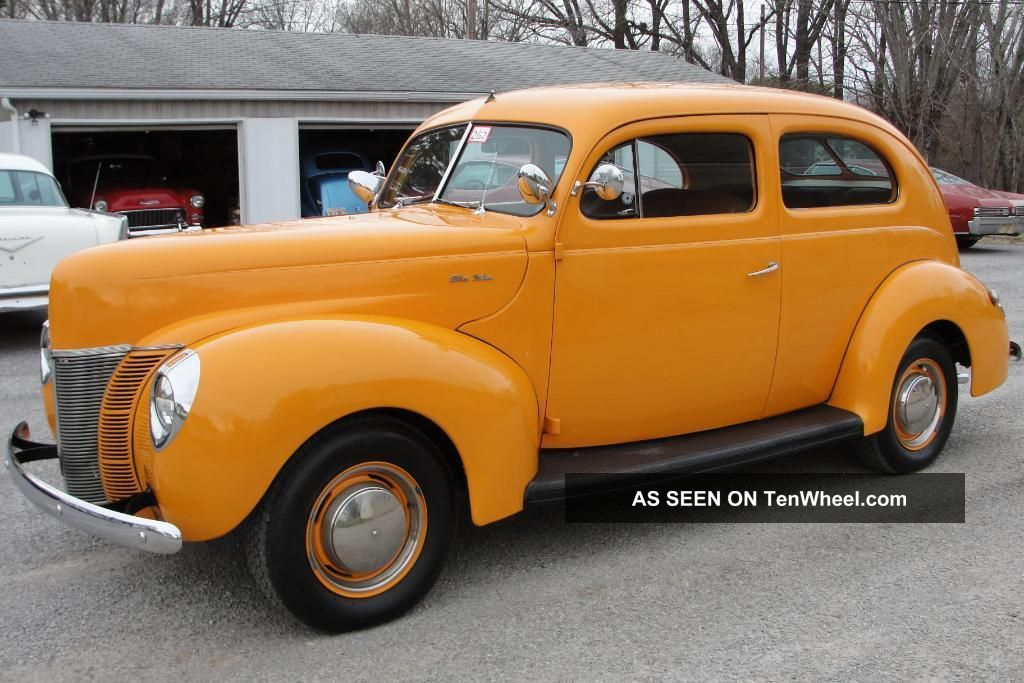 1940 ford 2 door sedan v8 streetrod for 1940 dodge 2 door sedan