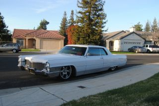 1965 Cadillac Coupe Deville Air Bagged Custom 2 Door photo