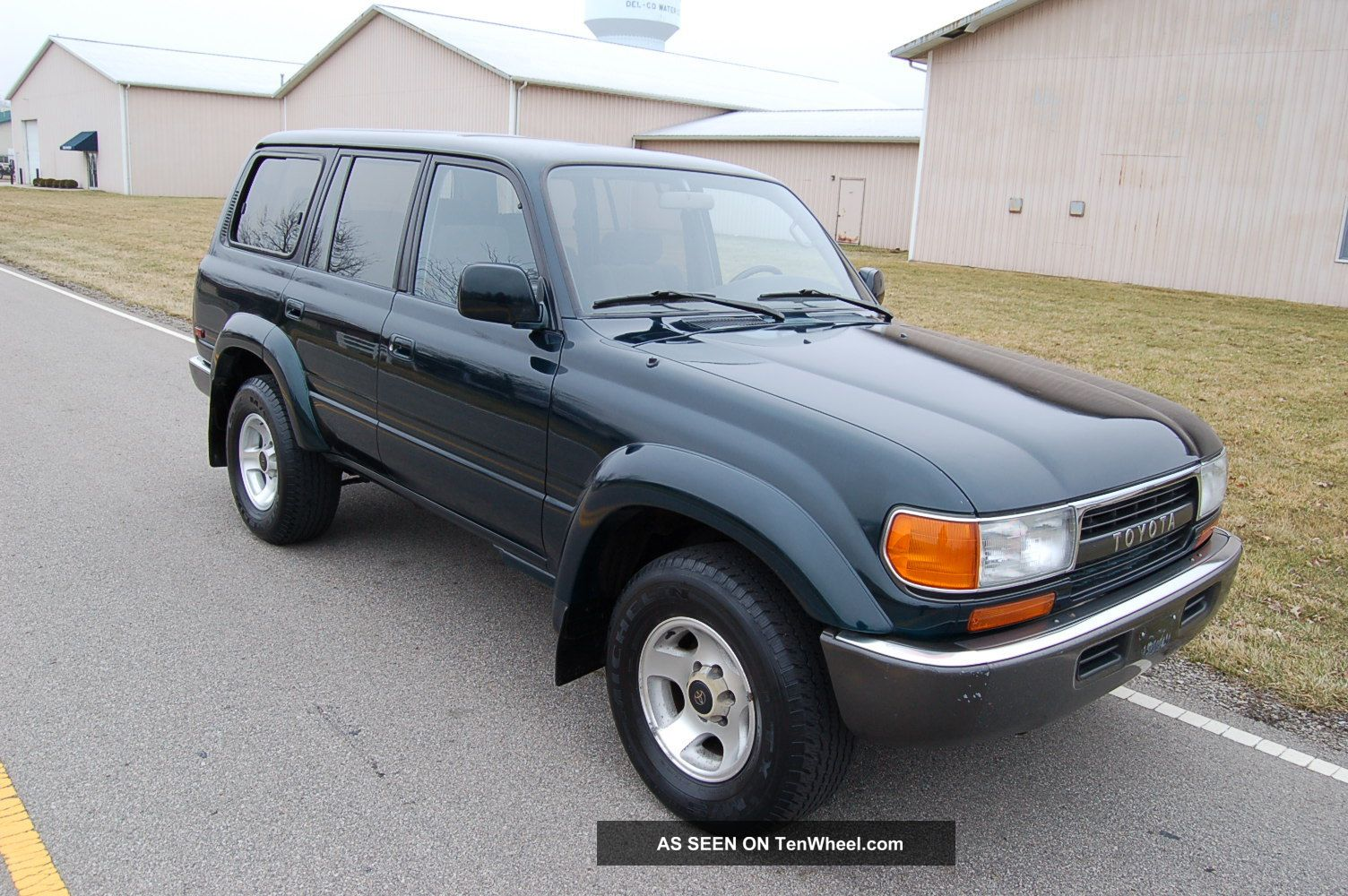 1994 Toyota Land Cruiser 190k 7 Pass 4wd Crusher Fjz80 Land Cruiser photo