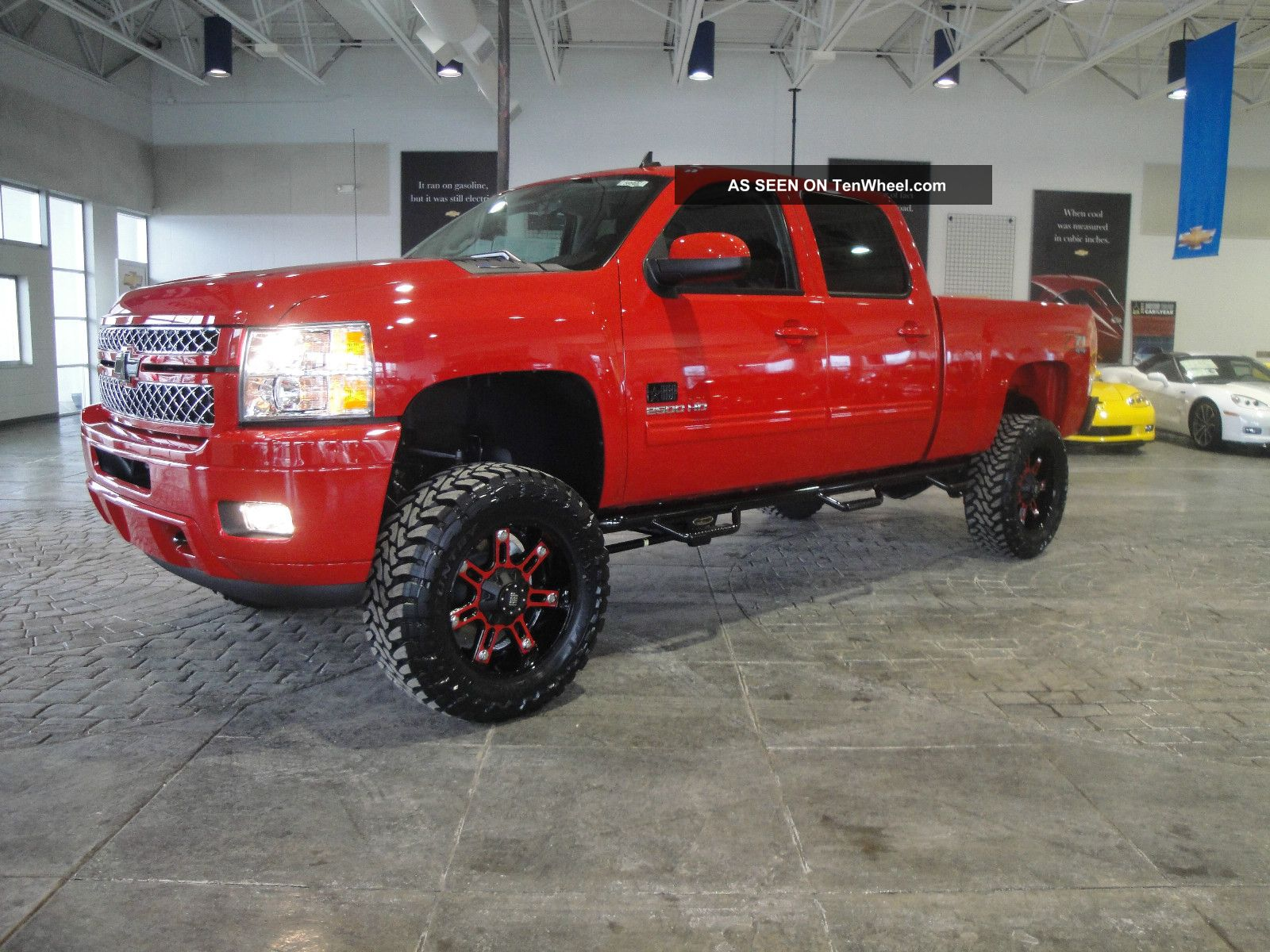 2013 Pro Comp Brp Lifted Monster Chevy Silverado 2500hd
