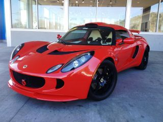 2009 Lotus Exige S 240 Coupe 1.  8l Ardent Red Touring Package photo