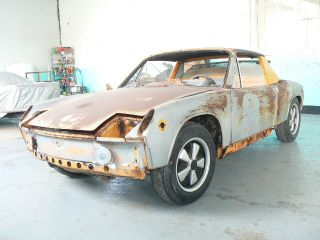 1970 Porsche 914 - 6 Matching Numbers Orange 914 / 6 For Restoration photo