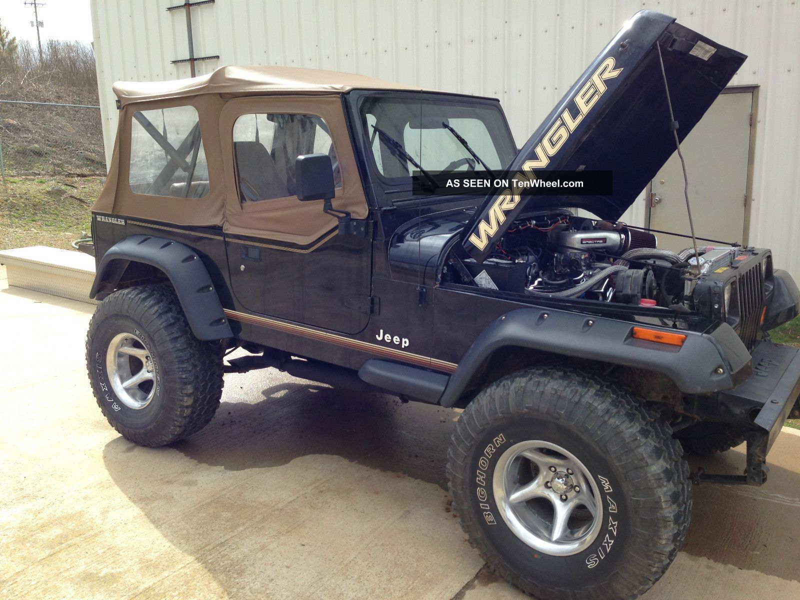 1990 Jeep Wrangler Yj Chevy 350 Conversion Lifted