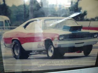 1970 Plymouth Duster Drag Race Car No Engine Or Trans photo