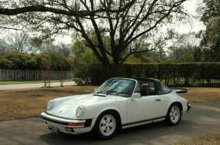 1988 Porsche Carrera G50 Targa photo