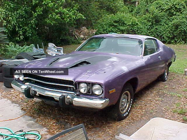 1973 Plymouth Satellite,  Solid Car,  Needs Paint Satellite photo