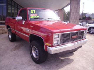 1987 Chevy / Gmc Sierria Classic1500 4x4 350 Engine Fi Rebuilt Tranny photo