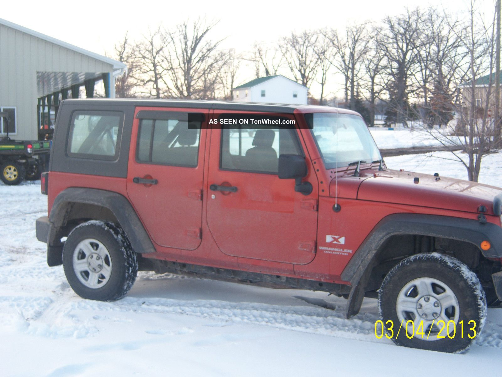 2009 jeep wrangler unlimited x sport utility 4 door 3 8l right hand drive. Black Bedroom Furniture Sets. Home Design Ideas
