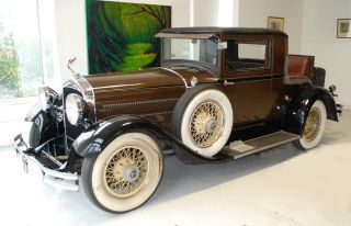 1929 Hudson Model R Rumble Seat Coupe Collector Owner - Highly & Great photo