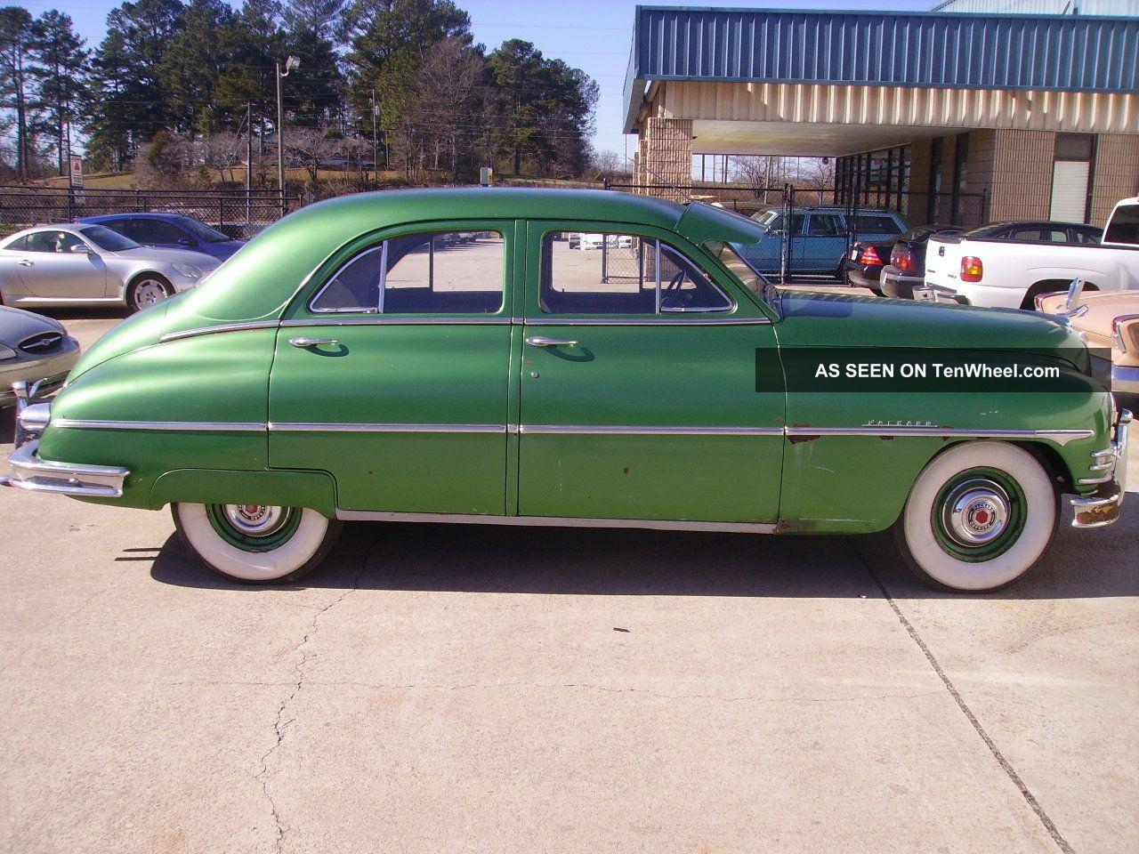 Packard Door Sedan Barn Find All Look Lgw on 1950 Chrysler Straight 8 Engine