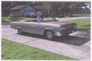 Rare 1965 Rambler Classic 770 Convertible W / 327 V8 photo