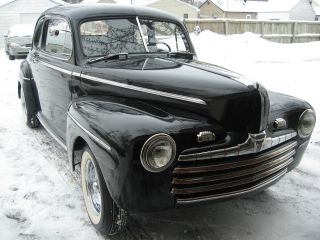 1946 Ford Deluxe Business Coupe,  And Updated photo