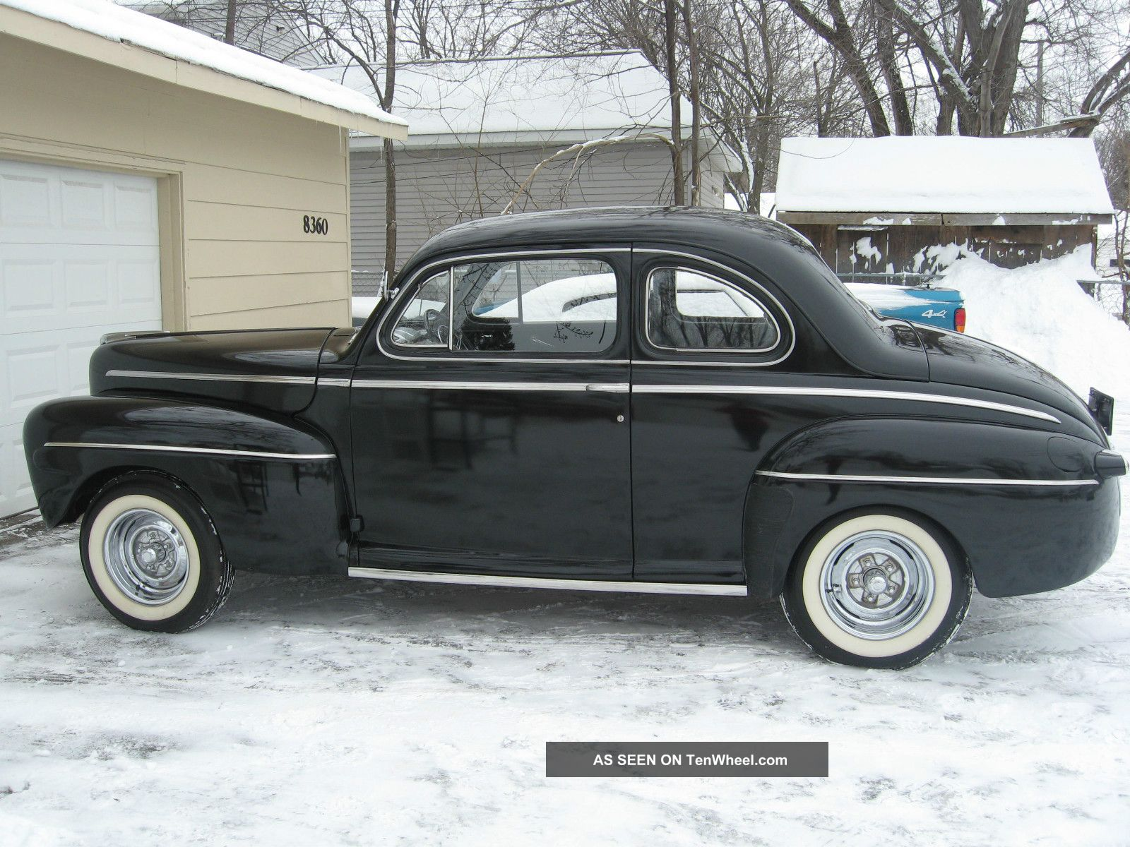 1946 Ford Deluxe Business Coupe And Updated