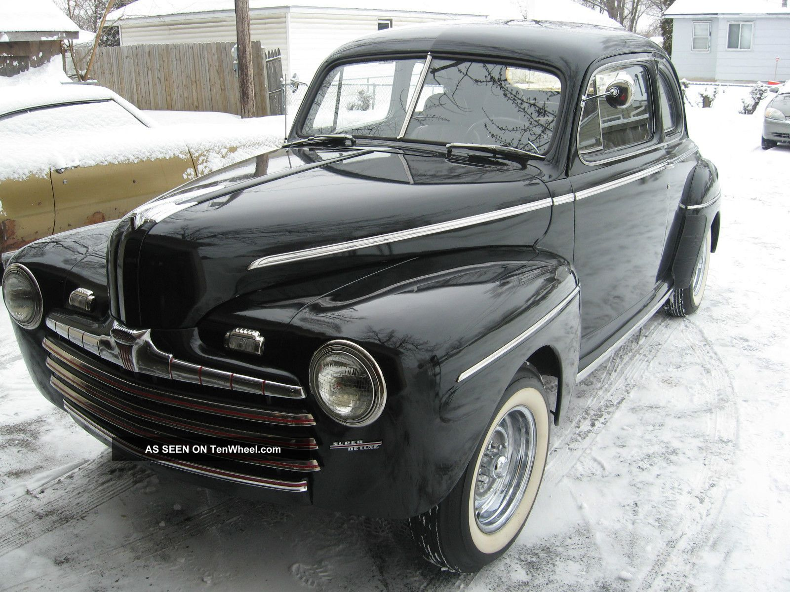 1946 Ford Coupe Chopped