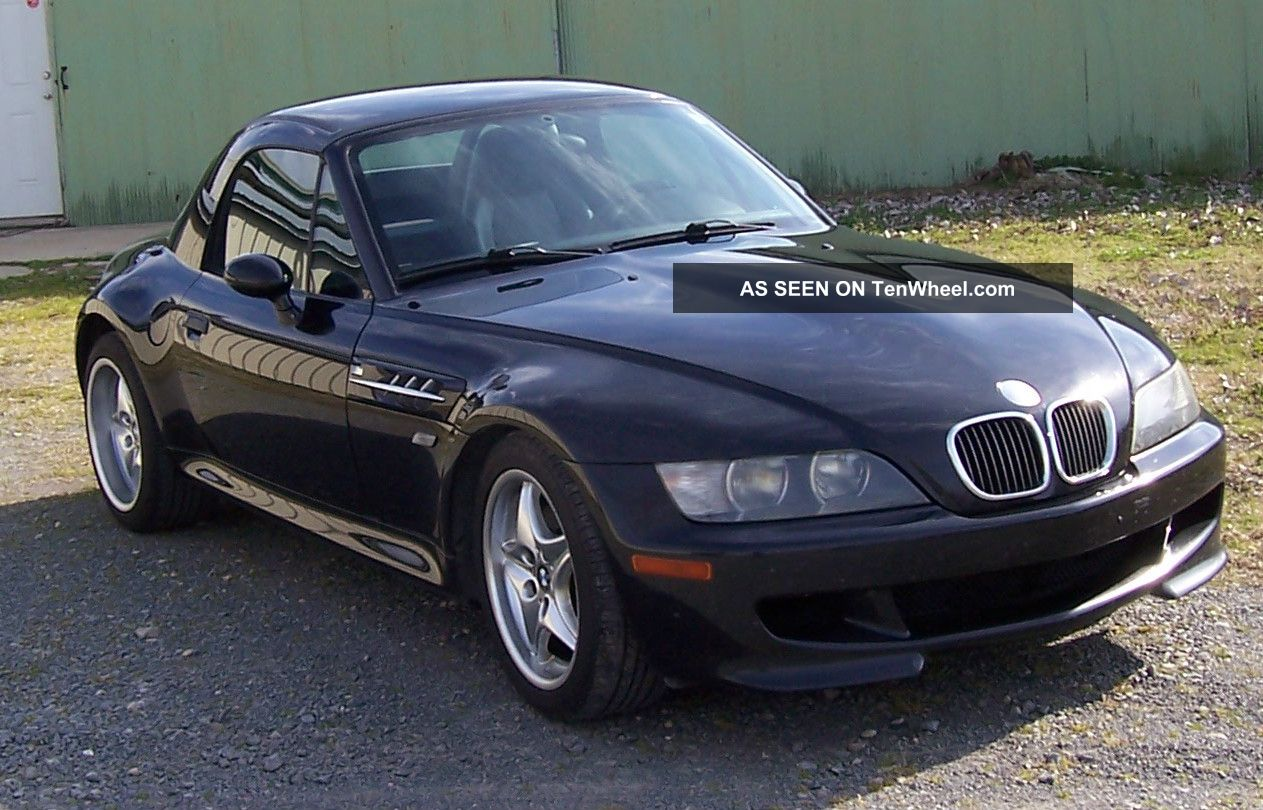 Bmw Z3 M Series Roadster 2000 Model, Removable Factory Hard Top. Metalic  Black