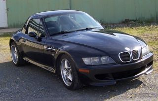 Bmw Z3 M Series Roadster 2000 Model,  Removable Factory Hard Top.  Metalic Black photo