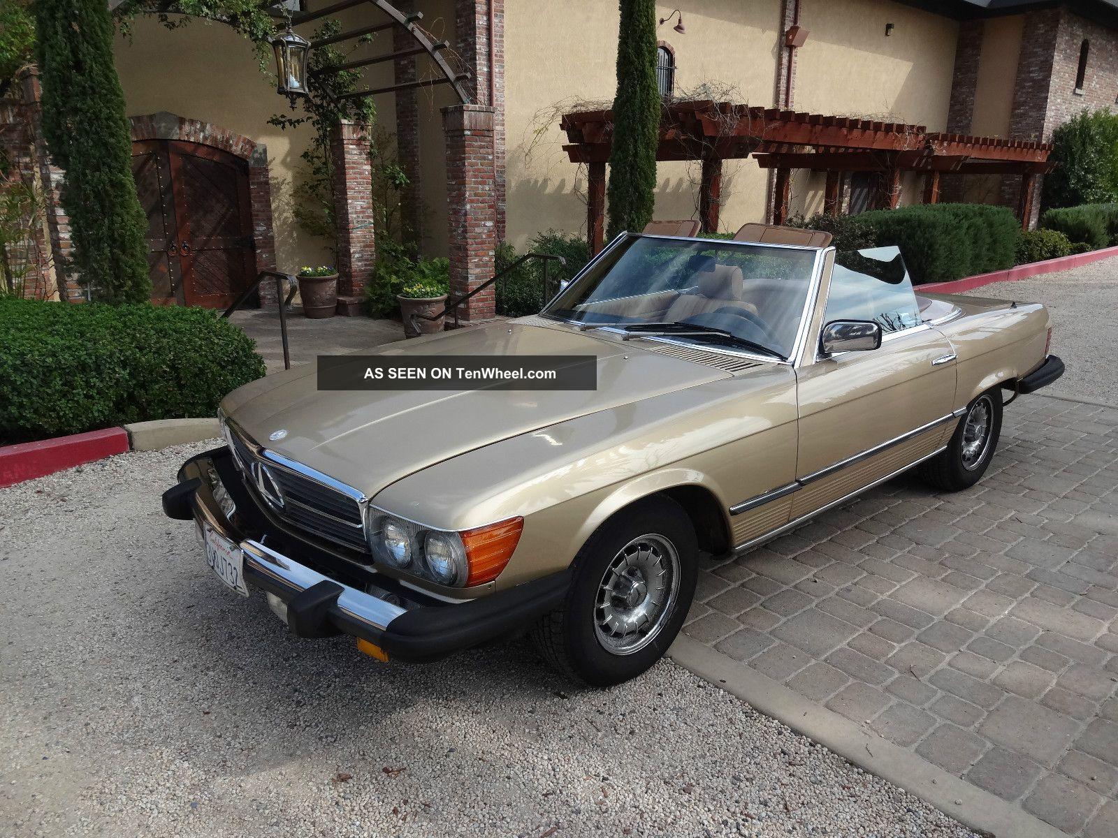 1985 380sl Mercedes Convertible California Car Good Roadster SL-Class photo