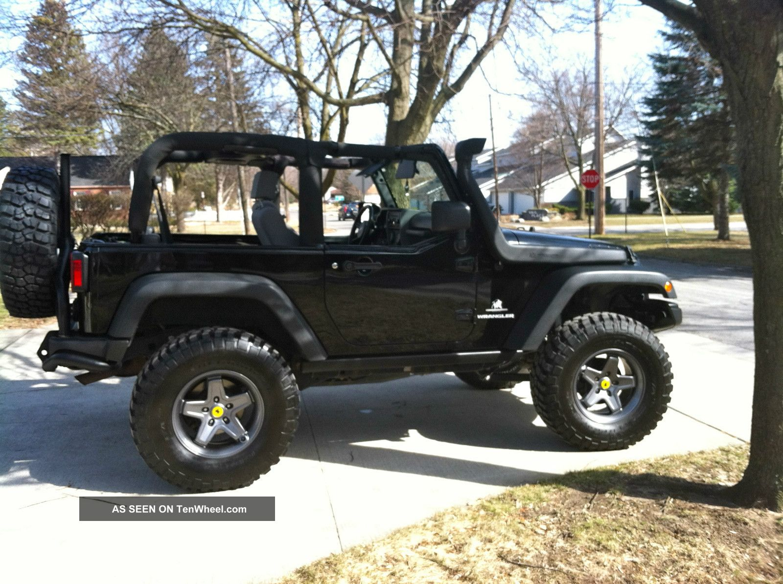 2008 aev jeep wrangler rubicon sport utility 2 door 3 8l. Black Bedroom Furniture Sets. Home Design Ideas