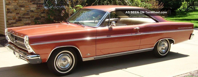1966 Ford Fairlane 500 4 7l