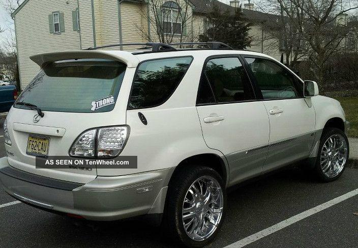 Lexus Rx Base Sport Utility Door L Pearl White W Add Ons Rims Lgw