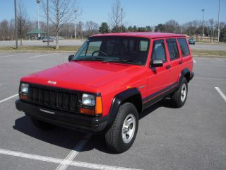 1995 Jeep Cherokee 4x4 Right Hand Drive photo