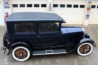 1927 Buick 2 Door Sedan. . . .  Rock Solid. . . .  Inline 6 Cyclinder. . . .  Tires photo