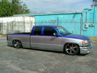 2004 Gmc Sierra 1500 Slt Extended Cab Pickup 4 - Door 4.  8l photo