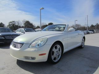 2004 Lexus Sc430 Convertible 4.  3l photo