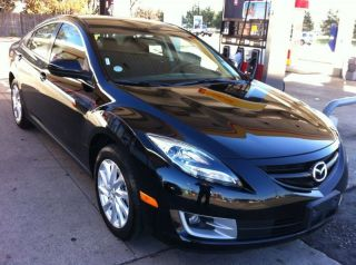 2012 Mazda 6 I Sedan 4 - Door 2.  5l Black On Black photo