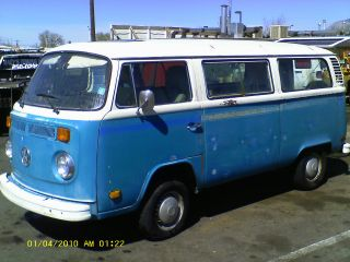 1978 Vw Volkswagon Bus Van No Reasrve photo