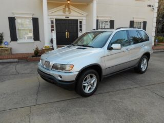 2003 Bmw X5 4.  4,  Silver, ,  113k,  Truck - Priced To Sell Quick photo