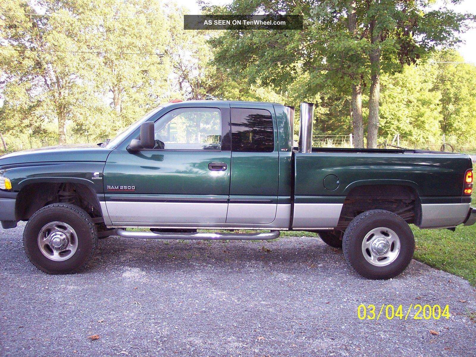 2002 Dodge Ram 2500 Diesel 4x4