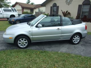 2002 Volkswagen Cabrio Gls Convertible 2 - Door 2.  0l photo