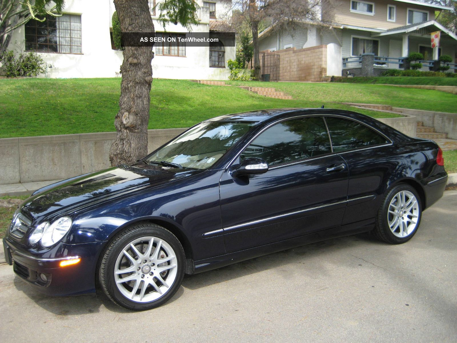2009 mercedes benz clk350 base coupe 2 door 3 5l for Mercedes benz clk 2009