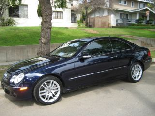 2009 Mercedes - Benz Clk350 Base Coupe 2 - Door 3.  5l photo