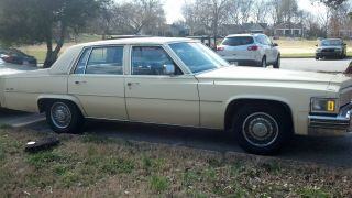 1979 Cadillac Deville De Elegance photo