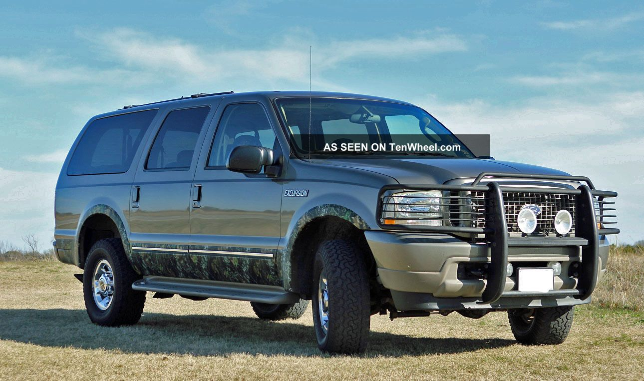 2003 ford excursion limited 4x4 7 3l turbo diesel. Cars Review. Best American Auto & Cars Review