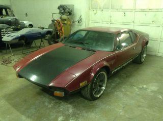 1974 Detomaso Pantera Gts With 2011 5.  0 Coyote Motor Swap photo