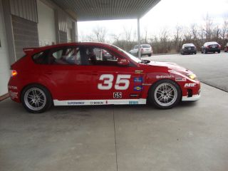 2008 Subaru Wrx Sti Grand Sports Continental Series Grand Am Race Car photo