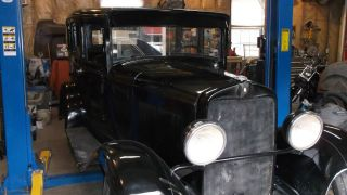 Barn Find 1930 Plymouth 4 Dr.  Gangster Car Rare Find photo