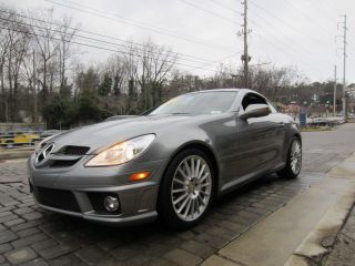 2010 Mercedes - Benz Slk350 Convertible Cpo photo