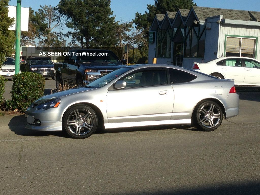 2002 Acura Rsx Type - S A - Spec (satin Siliver,  Title,  Oem - Jdm,  M / T 6 - Speed) RSX photo