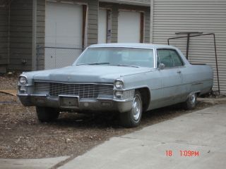 1965 Cadillac 2 Dr Hardtop Deville [[[[no Reserve]]]] photo